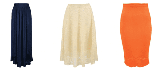 Ля мода юбки